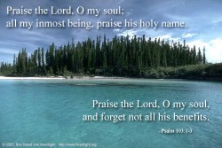 Psalm 103:8-18 – Father's Day